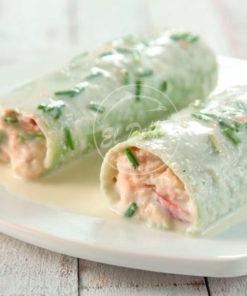 Canelones de salmón rosado-0