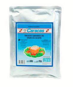 Trozos de Atun en aceite x 1 kg Caracas -0